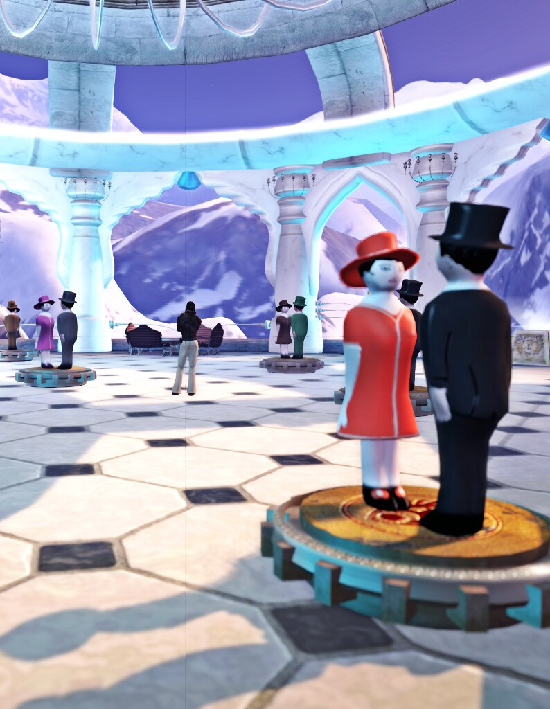 The Forgotten City: alone at the ball room