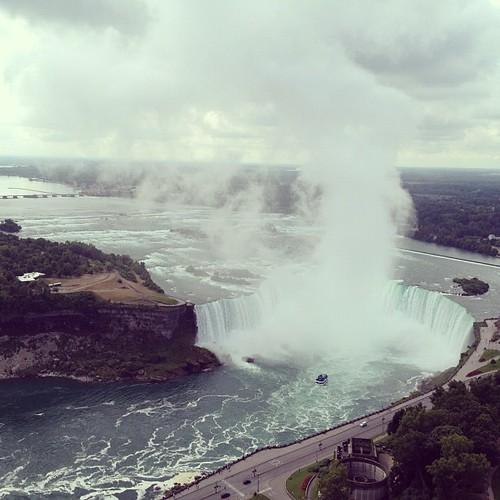 Niagara falls, Canada's side