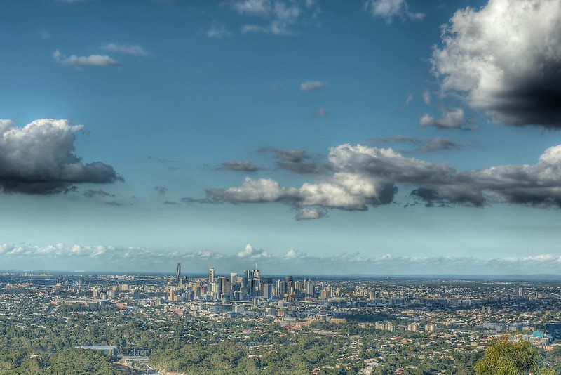 Brisbane from My Coot-tha