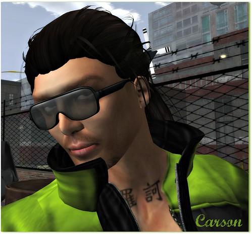 Prodigal - Kurt Skin, Amacci - Samson Hair, Kumaki Glasses Style