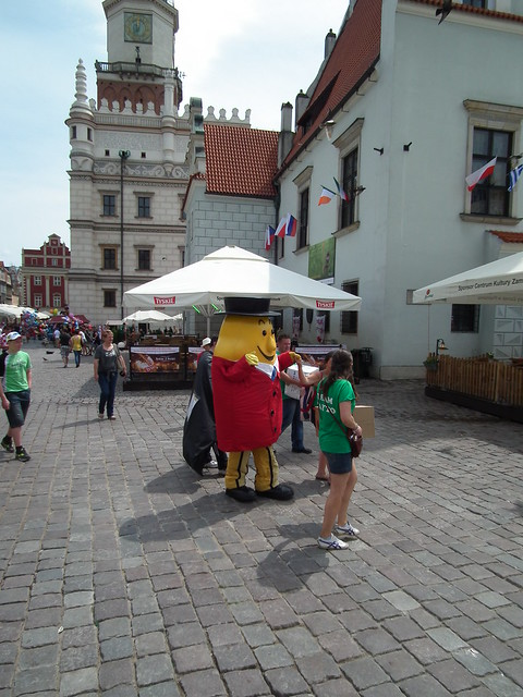 Mr. Tayto in Poznan, Poland
