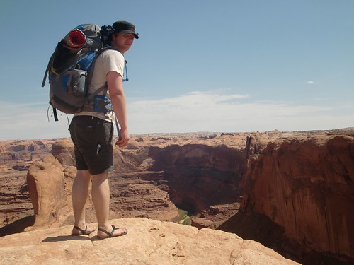 Tommy in Lunas overlooking the Escalante