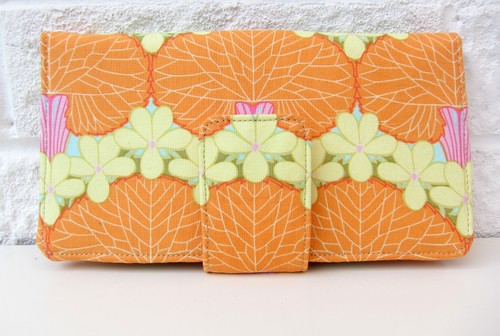 Tangerine Trees Wallet
