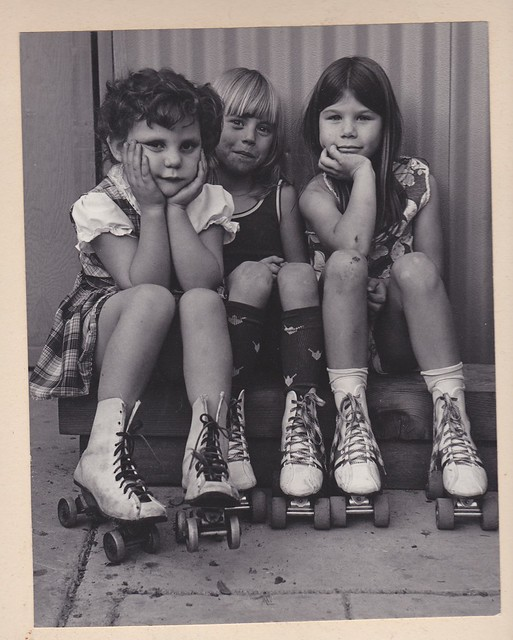 me and friends with better roller skates