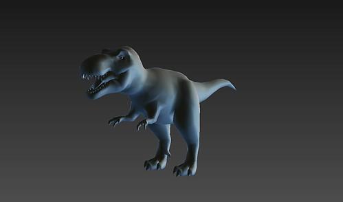 T-Rex Model - Front