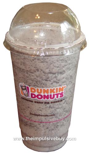 Dunkin' Donuts Oreo Vanilla Bean Coolatta