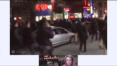 Montreal Student Protest Apr 27 LIVE Google+ Hangout On Air - pix 02