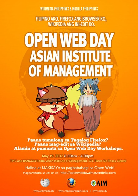 Open Web Day @ Asian Institute of Management
