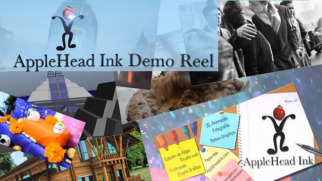 Captura de AppleHeadINk Demo Reel/Screenshot AppleHead Ink Reel puedes verlo en:  watch it : www.vimeo.com/appleheadink www.youtube.com/appleheadink