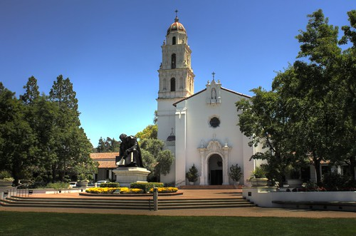 Chapel at St. Mary's College in California.