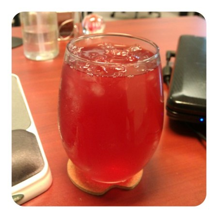 Passion Tea at work :)