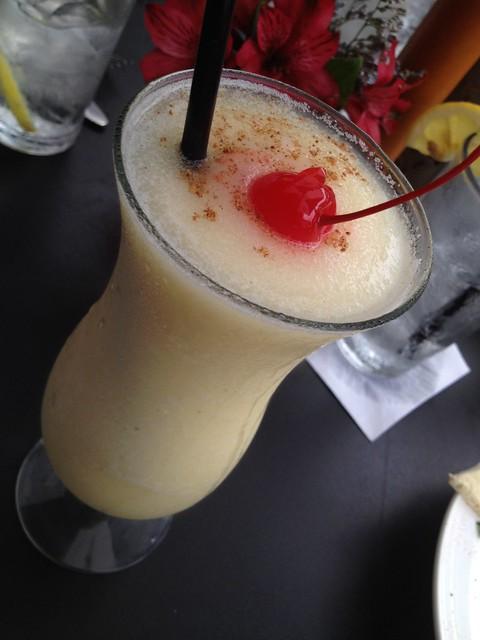 Frozen Painkiller cocktail - Tabbuli
