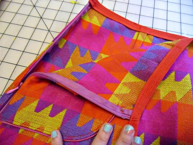 Skirt - pretty zipper!