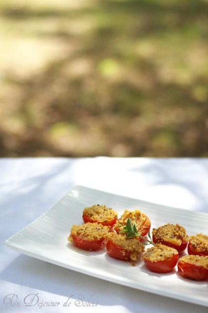 Tomatoes gratin