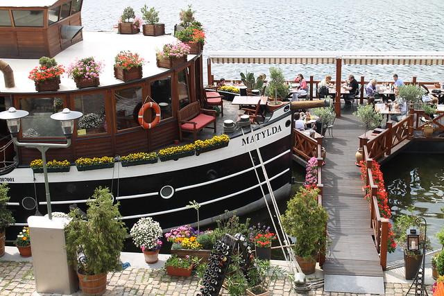 Matylda boat restaurant
