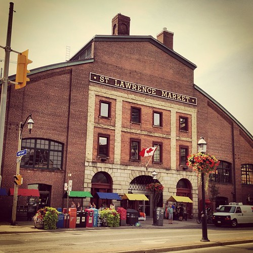 St Lawrence market. Food and more fooood...