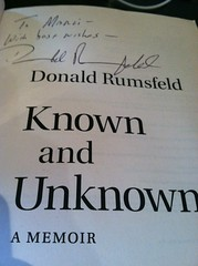 "Signed Copy of ""Known and Unknown"""