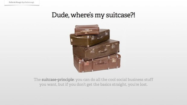 The suitcase-principle