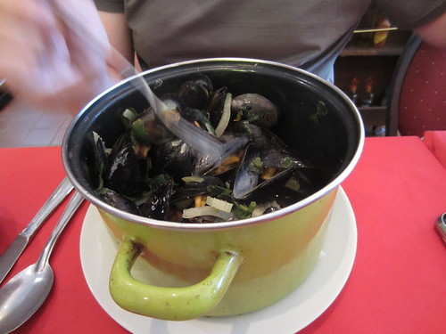matt's pot o'mussels
