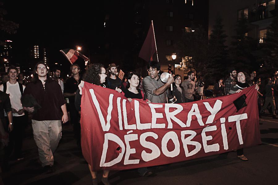 Action locale: Manif chaque soir, jusqu'à la victoire!/Manif de soir comme dans le bon vieux temps & Nos casseroles contre la loi spéciale! [photos Thien V]