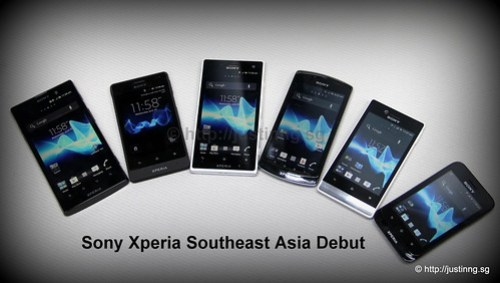 Sony Xperia Southeast Asia Debut