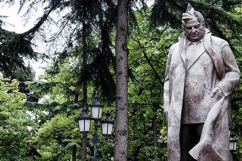 Statue in Tbilisi