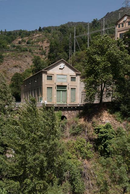 La usina eléctrica de Pampaneira