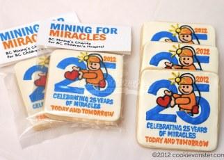 BC Mining Custom Cookies