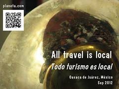 All travel is local = Todo turismo es local