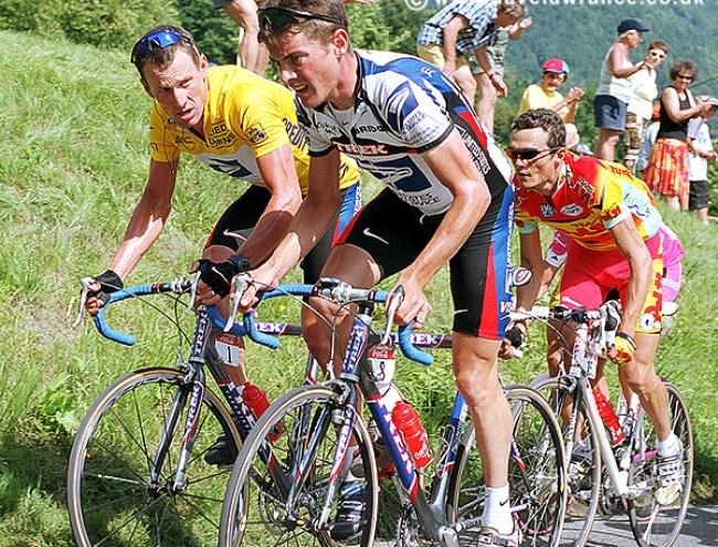 Lance Armstrong & Kevin Livingston - Tour de France 2000