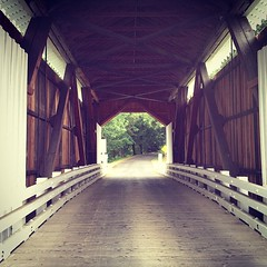 Inside the bridge.