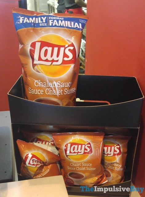 Lay's Chalet Sauce Potato Chips