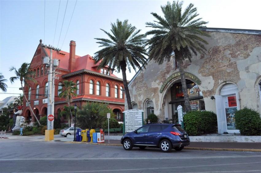 El Clinton Square Garden y los edificios colindantes forman el Downtown de Key West