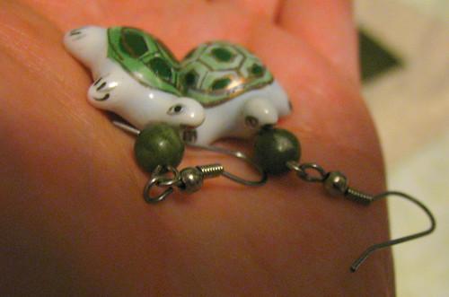 MMM'12, Day 17 earrings