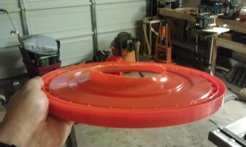 Dust Filter - bucket lid