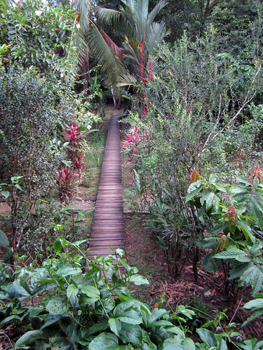 walkway at La Loma