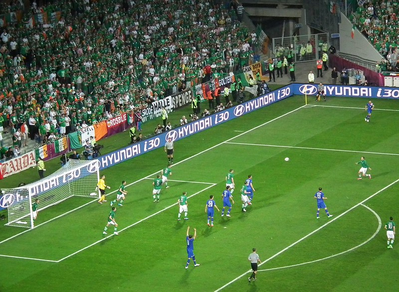 Ireland Vs. Croatia- Poznan, Poland Euro 2012