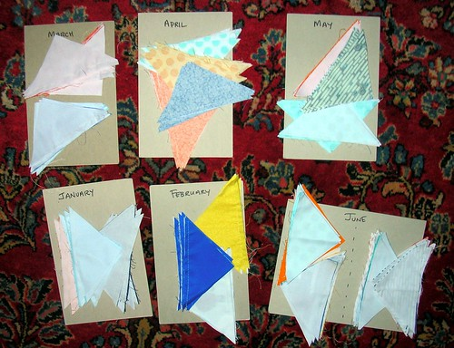 Half-triangle squares cut