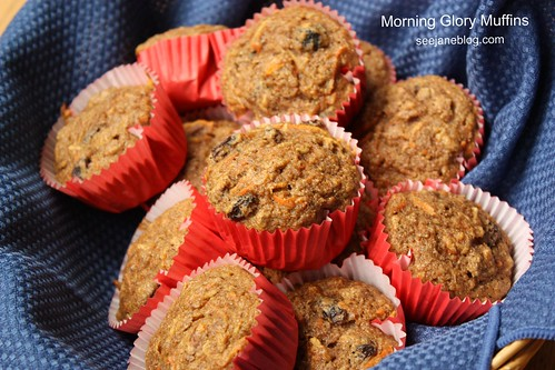 Morning Glory Muffins - Healthified