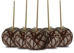 Blog de chocolatesecia : CHOCOLATES PERSONALIZADOS, Maça do amor de chocolate