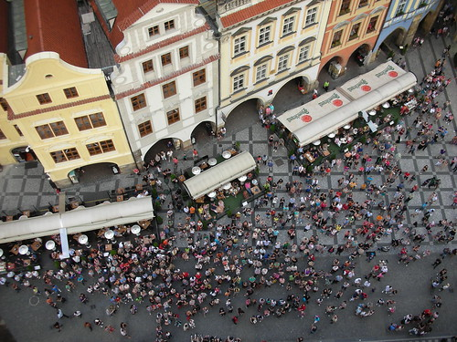 The View from The Clock Tower in Prague