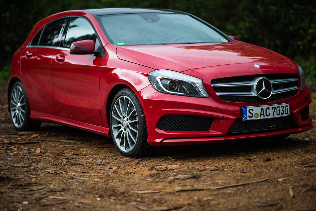 New Mercedes Benz A-Class Event