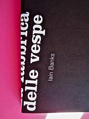 Iain Banks, La fabbrica delle vespe, Meridiano Zero 2012. Progetto grafico: Meat collettivo grafico; realizz. graf.: Nicolas Campagnari. Copertina (part.), 4