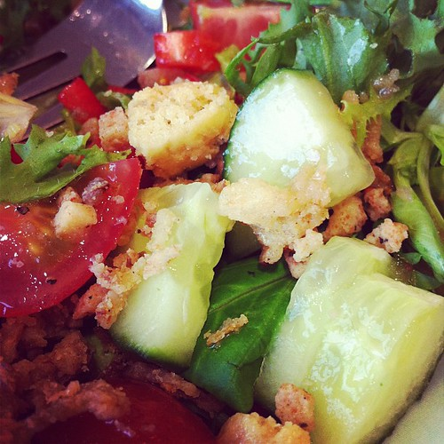 Day 12: texture. Mmm salad.