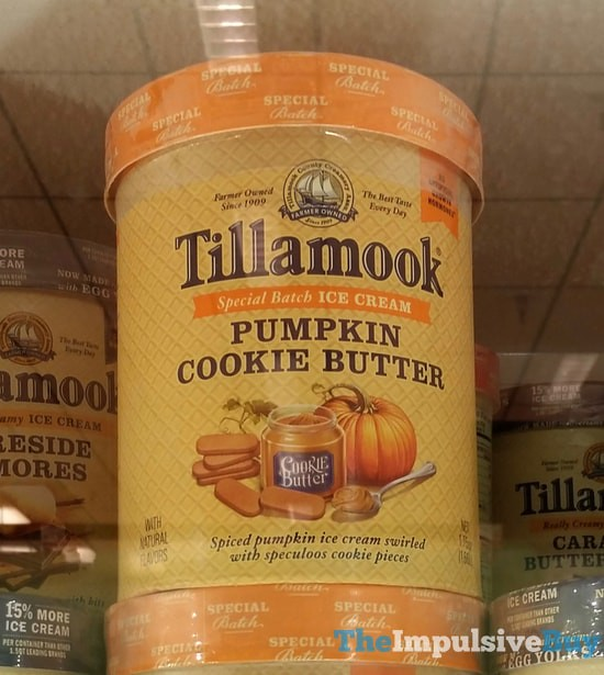 Tillamook Special Batch Pumpkin Cookie Butter Ice Cream