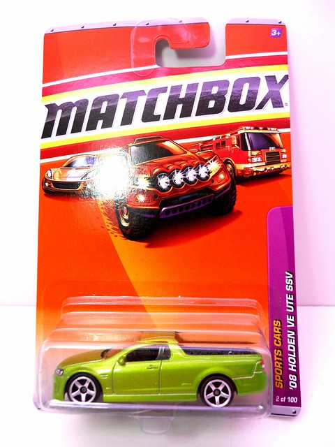 matchbox '08 holden ve ute ssv green (1)