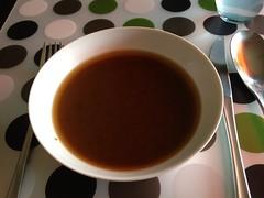 'Hokkaido' pumpkin soup