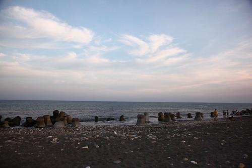 台東海邊走走:太陽下山了(7.11ys)