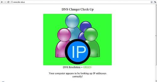 DNS Resolution = GREEN