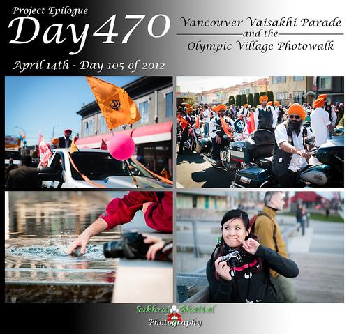 Day 470 - The Vaisakhi Parade and the Olympic Village Photowalk
